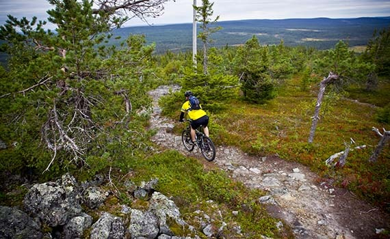 Sfeerimpressie Lapland fly & bike
