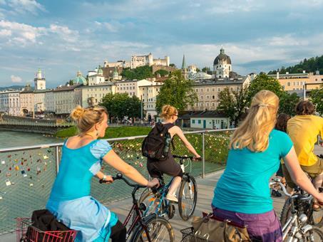 Sfeerimpressie 8-daagse fietsreis Salzburg - Wenen