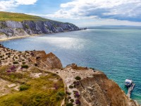 Sfeerimpressie Busreis Bournemouth en Isle of Wight