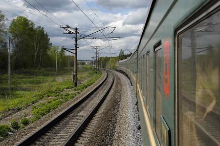 Sfeerimpressie Transsiberië Express
