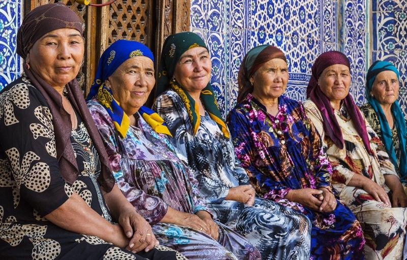Sfeerimpressie Centraal-Azië - Turquoise mozaïeken