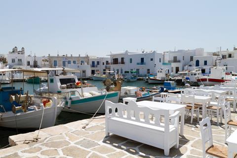 Sfeerimpressie Combinatiereis Paros - Naxos - Santorini