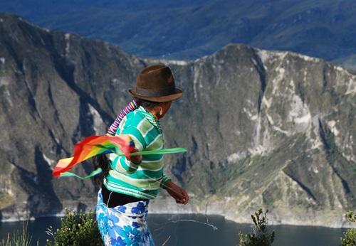 Sfeerimpressie 14-daagse privé familiereis Ecuador: Andes, Indianen en Amazone