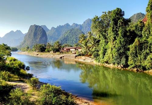 Sfeerimpressie 22-daagse groepsrondreis Thailand - Laos - Cambodja