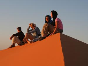 Sfeerimpressie Bedoeienenkaravaan naar de souks