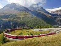 Sfeerimpressie Busreis In het spoor van de Bernina en Glacier Express