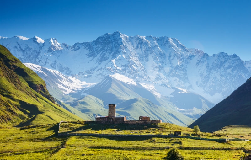 Sfeerimpressie Rondreis AZERBAIJAN, GEORGIË EN ARMENIË - 23 dagen; Hoogtepunten van de Kaukasus