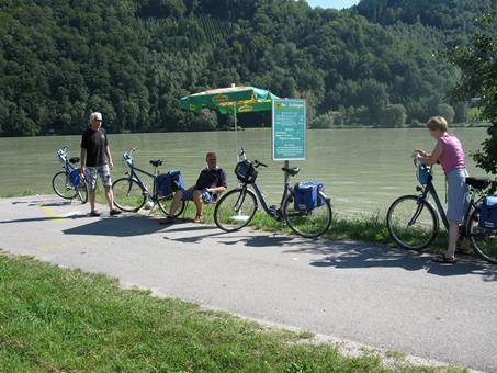 Sfeerimpressie 8/9/10-daagse fietsreis Passau-Wenen
