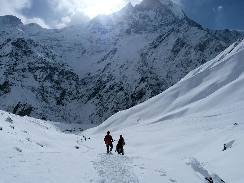 Sfeerimpressie Actieve rondreis met trektocht naar Annapurna Base Camp