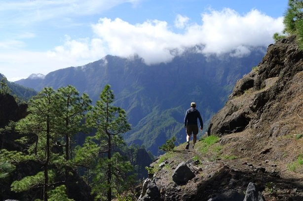 Sfeerimpressie Wandelreis La Palma