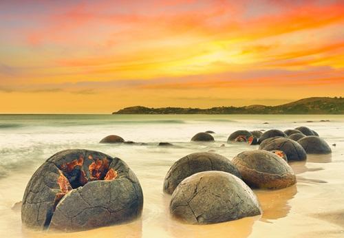 Sfeerimpressie 25-daagse privé rondreis met huurauto Bed & Breakfast tour Nieuw-Zeeland