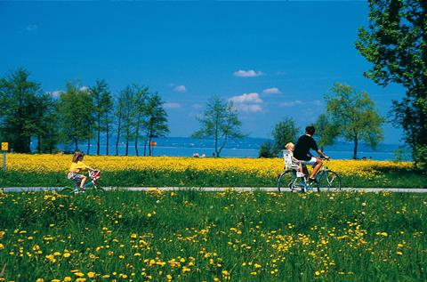 Sfeerimpressie 8/9-daagse fietsreis Bodensee voor genieters