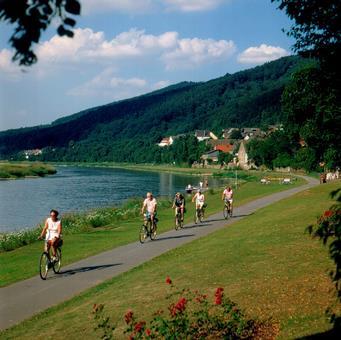 Sfeerimpressie 7-daagse fietsreis Weser