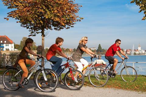 Sfeerimpressie 7/8-daagse fietsreis Bodensee