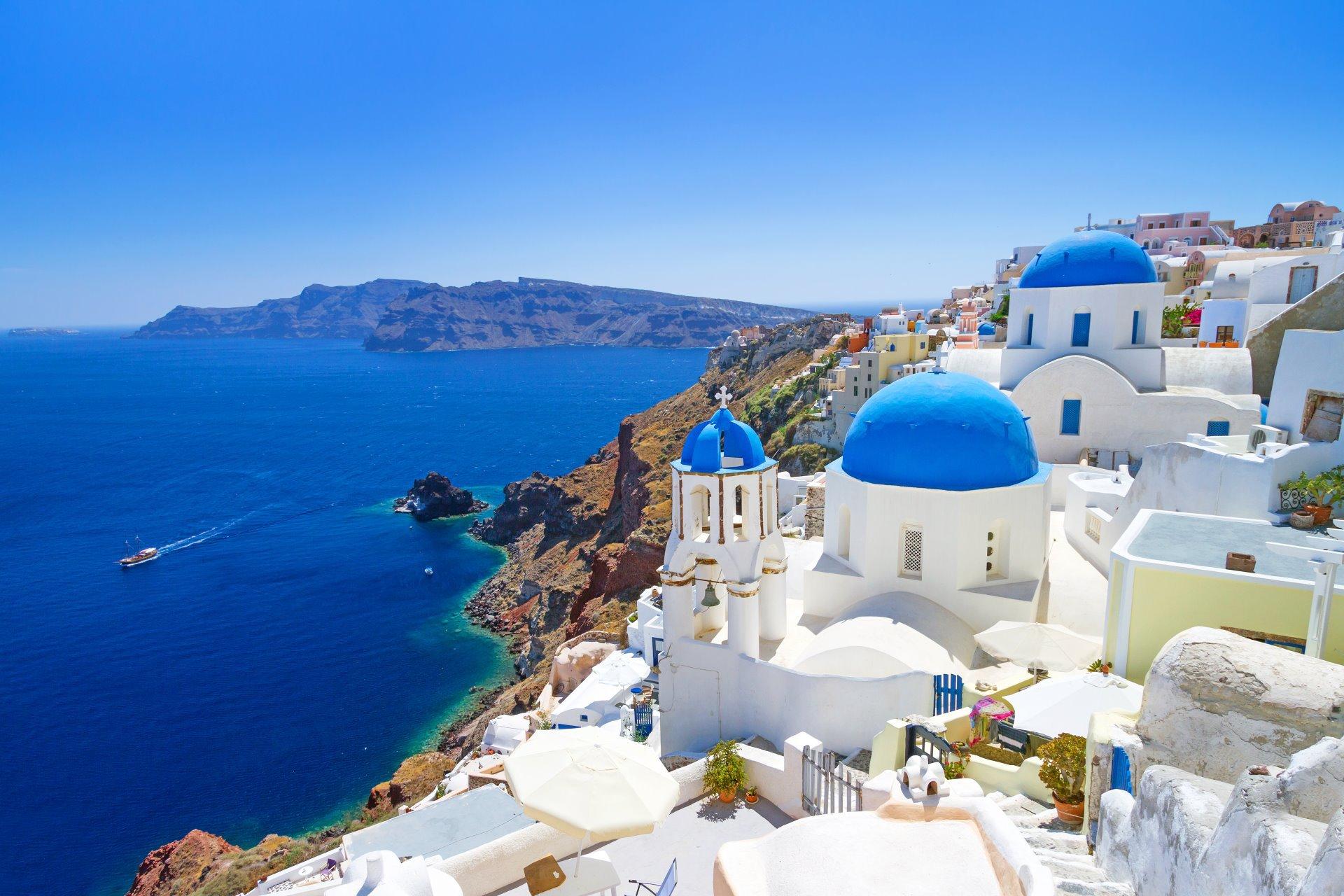 Sfeerimpressie zonvakantie Griekenland