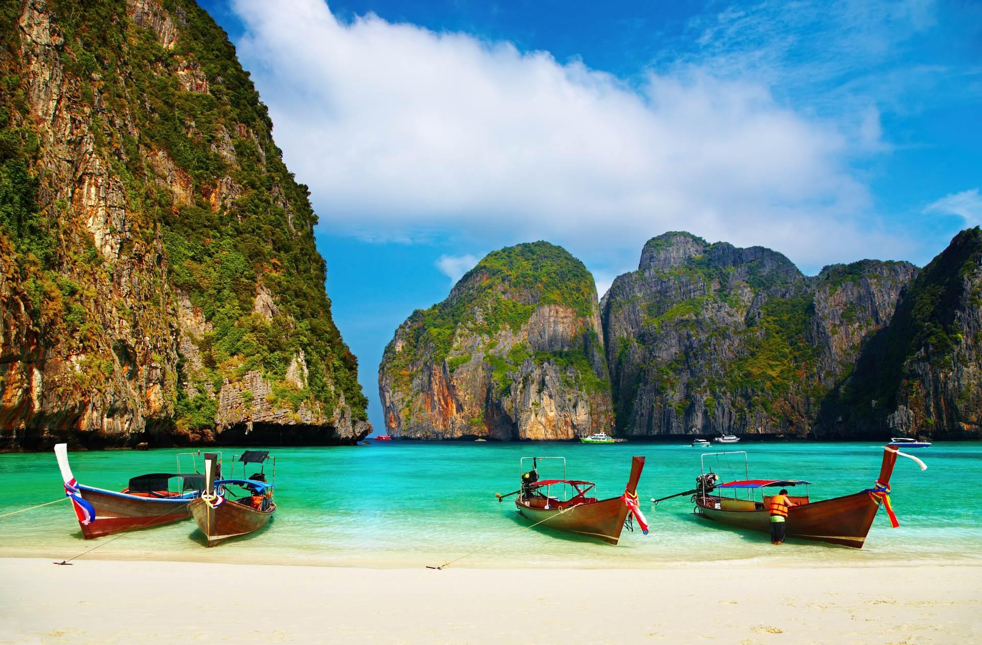 Sfeerimpressie zonvakantie Thailand
