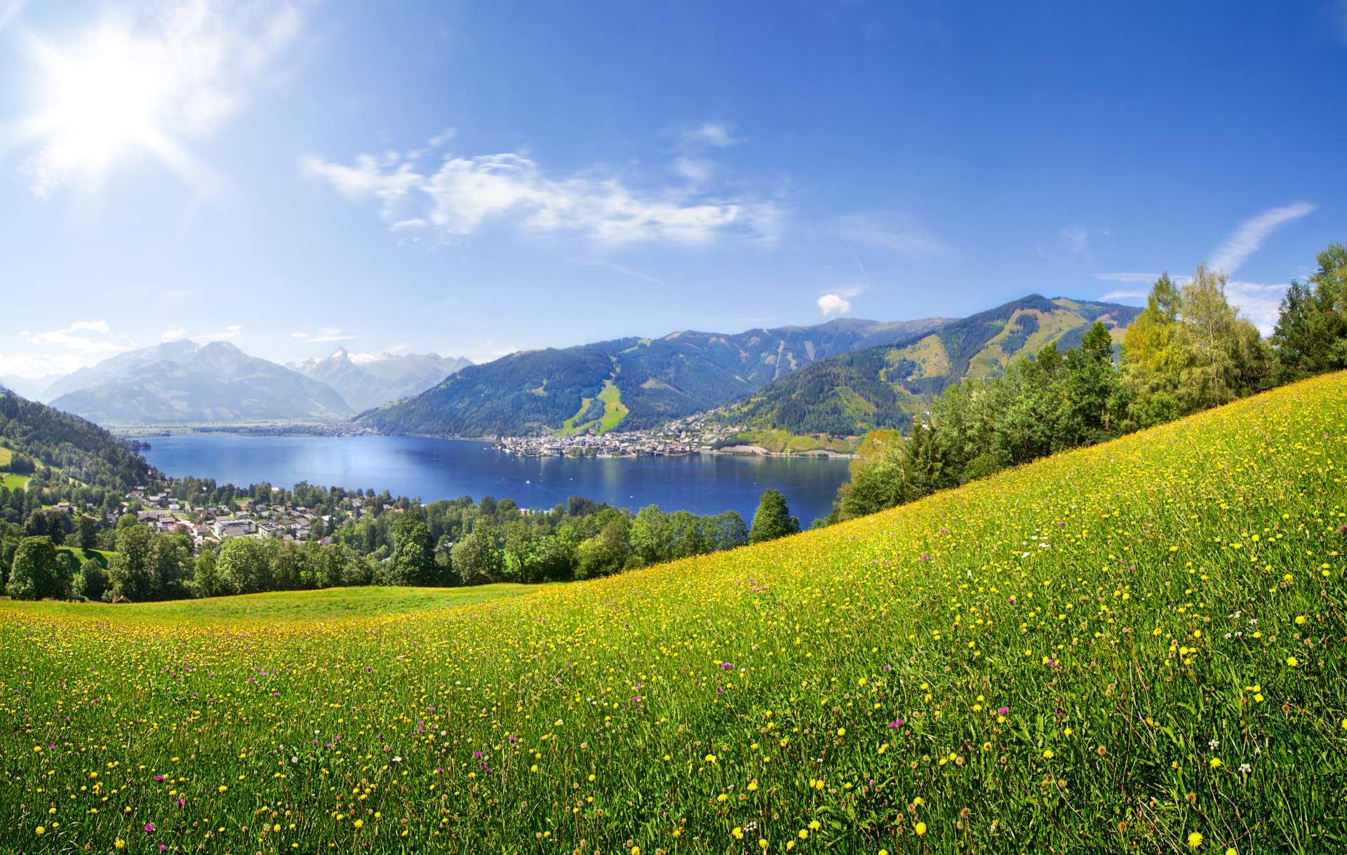 Sfeerimpressie zonvakantie Zwitserland